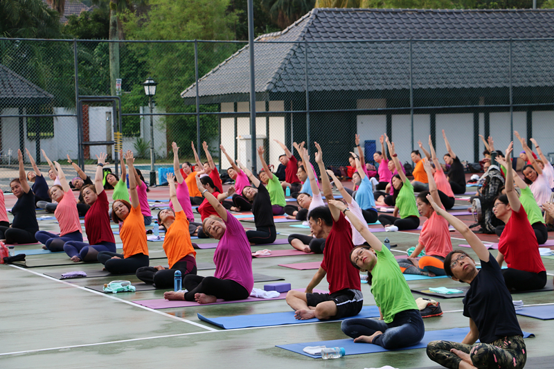 International Yoga Day Charity Event 14