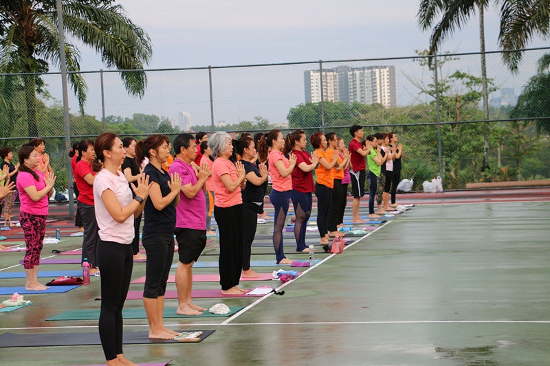 International Yoga Day Charity Event 18