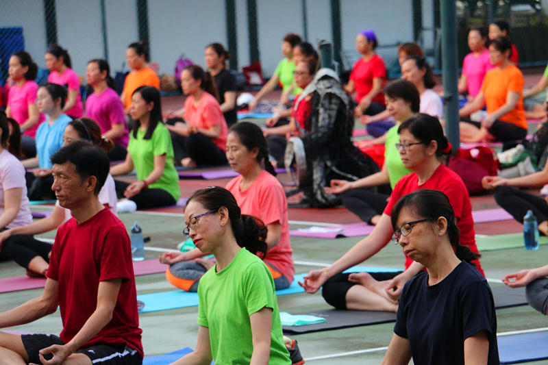 International Yoga Day Charity Event 3