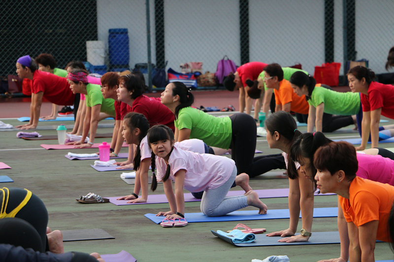 International Yoga Day Charity Event 7