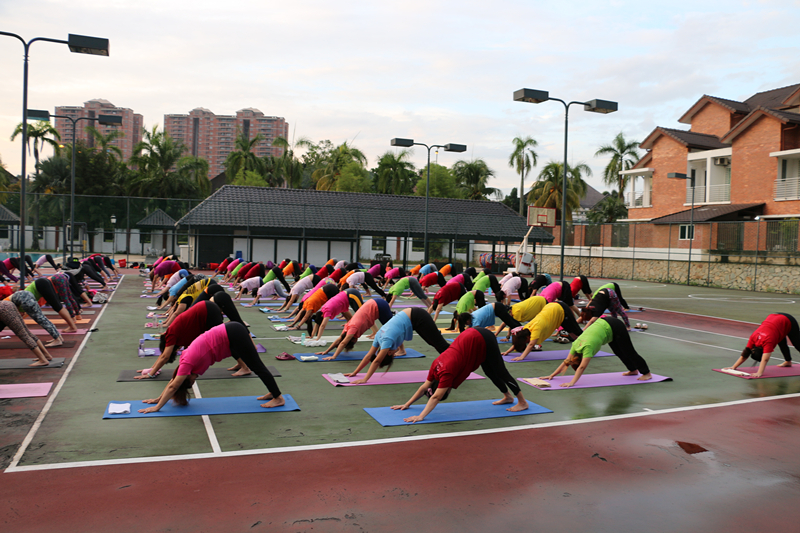 International Yoga Day Charity Event 8