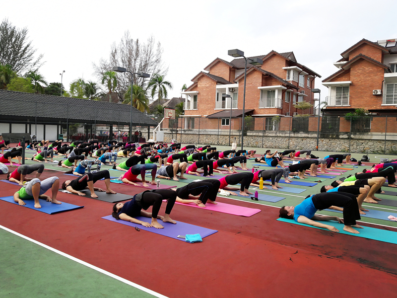 Outdoor Yoga 2016 by 100 Yogis 3