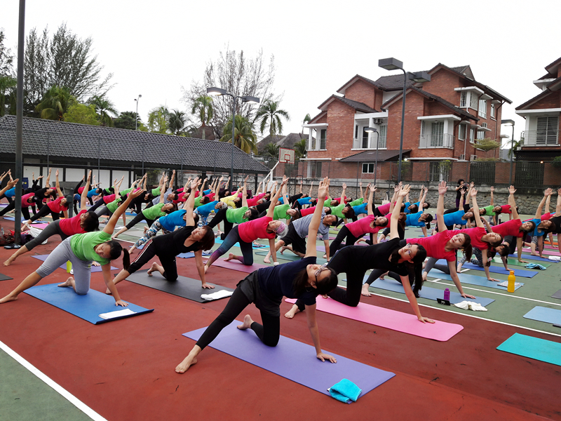 Outdoor Yoga 2016 by 100 Yogis 4