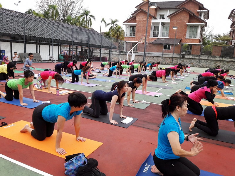 Outdoor Yoga 2016 by 100 Yogis 6