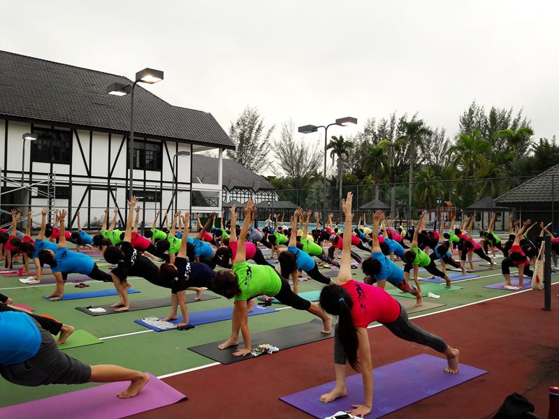 Outdoor Yoga 2016 by 100 Yogis 8