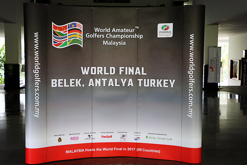World Amatuer Golfers Championship Malaysia - Welcome