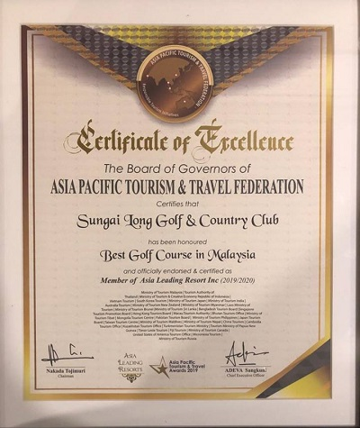BEST GOLF COURSE IN MALAYSIA 2019/2020